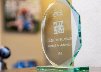 Brumbach Smile Source award