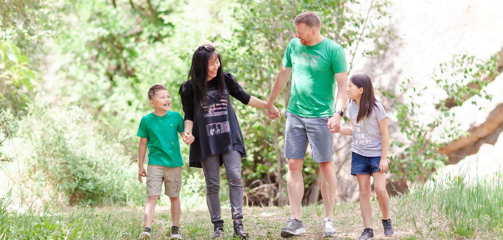 General Dentistry - Family walking together